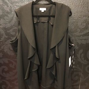 Jackets & Blazers - Calvin Klein size 2X new with tags black